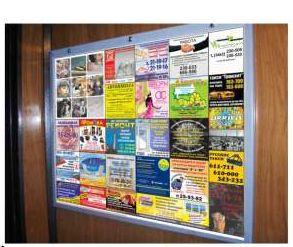Реклама в лифтах Луцк