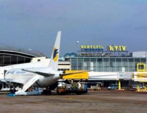 Самолет в борисполе