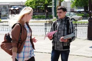 Эффективность раздачи листовок в Харькове
